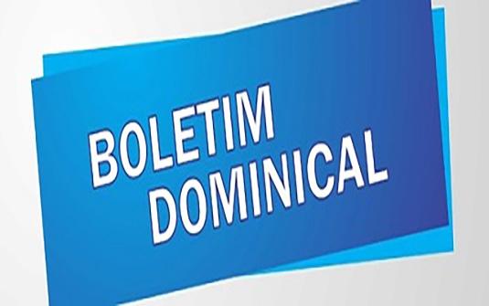 Boletim - 25/09/2016