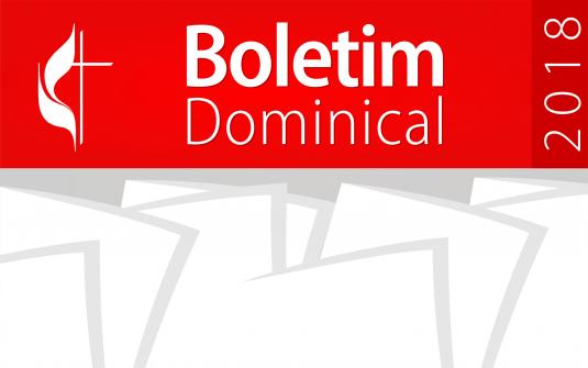 Boletim - 08/04/2018
