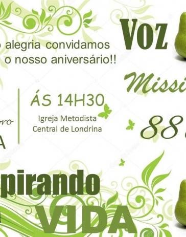 Aniversário da Voz Missionária