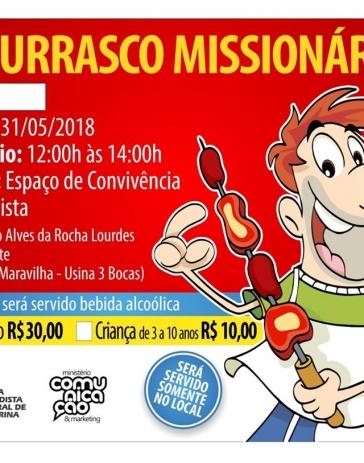 Churrasco Missionário