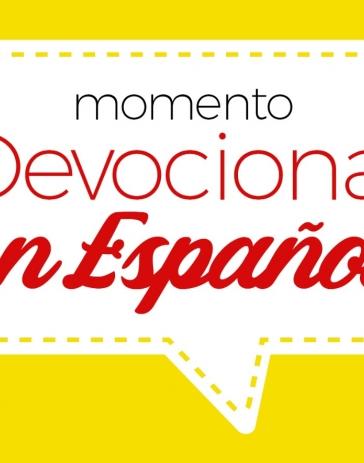 MOMENTO DEVOCIONAL EM ESPANHOL