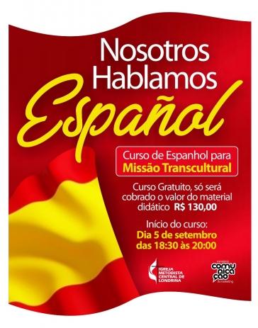 Curso gratuito de espanhol