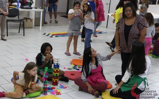 Foto Culto Infantil- Dia do Brinquedo
