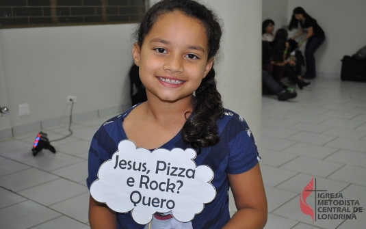 Foto Jesus, Pizza e Rock