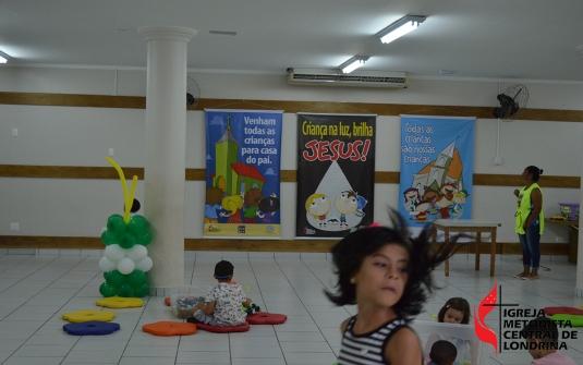 Foto Retorno do Culto Infantil