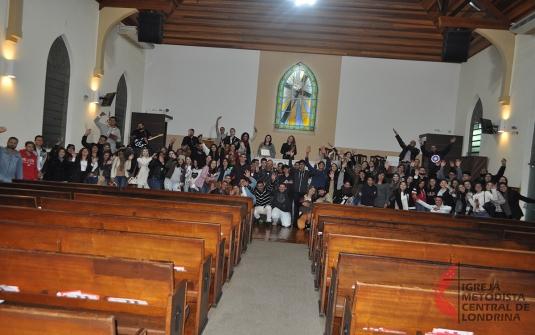 Foto Culto Distrital dos Jovens