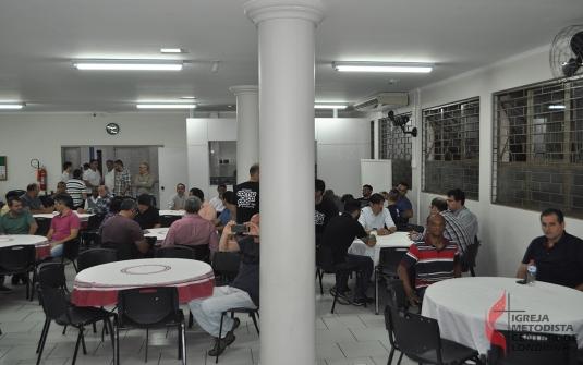 Foto Jantar dos Homens - Julho 2018
