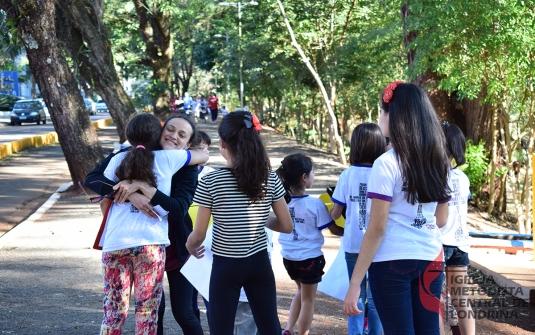 Foto Saida King Kids - Dia do Abraço