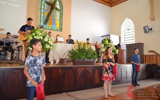 Foto Culto Especial do Dia do Juvenil