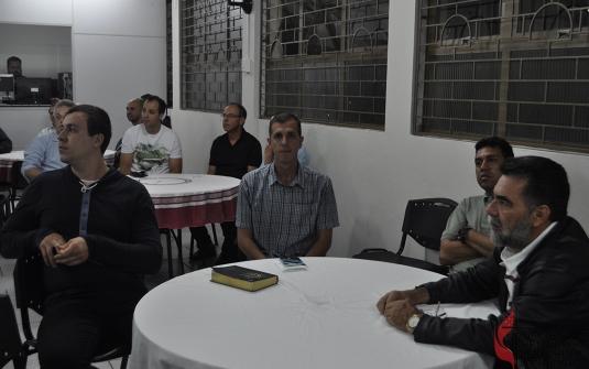 Foto Jantar dos Homens - Outubro 2018