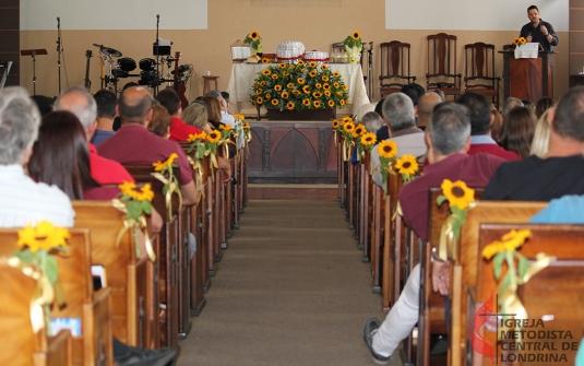 Foto Culto de Comemoração de 85 anos