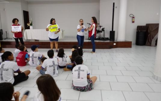 Foto Saida do King Kids - Dezembro 2018