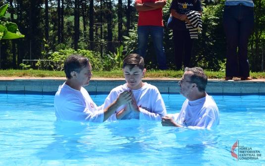 Foto Batismo dezembro 2018