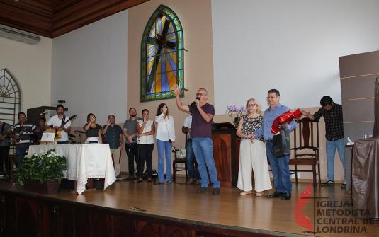 Foto Culto Especial Pastora Ruth