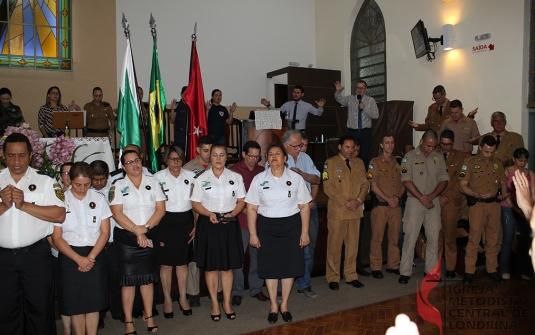 Foto Culto Especial do Grupo Integrado das Forças de Segurança