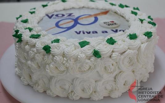 Foto Comemoração de Aniversário de 90 anos da Revista Voz Missionária