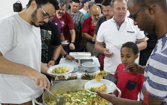 Foto Jantar dos Homens