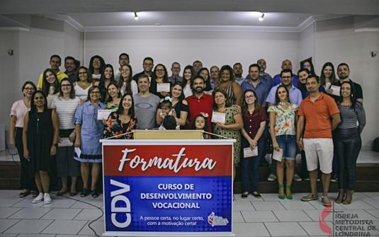 Foto Formatura do CDV