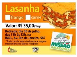 Cantina Missionária - Barco Hospital