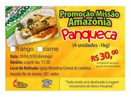 Retirada das Panquecas da Missão Amazônia